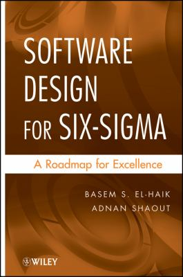picture of book cover for Software Design for Six-Sigma