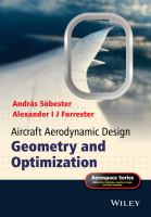 Aircraft aerodynamic design [electronic resource] : geometry and optimization