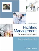 Facilities management : the dynamics of excellence