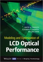 Modeling and optimization of LCD optical performance [electronic resource]