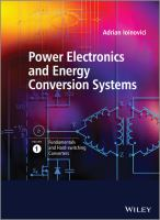 Power electronics and energy conversion systems [electronic resource]