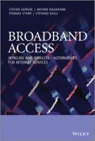 Broadband access [electronic resource] : wireline and wireless--alternatives for Internet services
