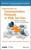 Verification of communication protocols in web services [electronic resource] : model-checking service compositions