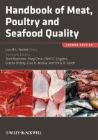 Handbook of meat, poultry and seafood quality [electronic resource]