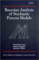 Bayesian analysis of stochastic process models [electronic resource].