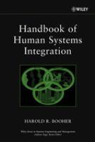 Handbook of Human Systems Integration. Vol. 1 [electronic resource]