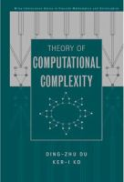 Theory of Computational Complexity [electronic resource]