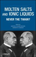 Molten salts and ionic liquids [electronic resource] : never the twain?