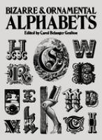 Bizarre and Ornamental Alphabets