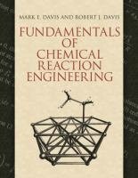 Fundamentals of chemical reaction engineering [electronic resource]
