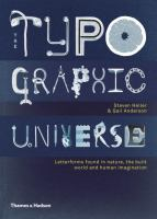 The typographic universe : letterforms found in nature, the built world and human imagination