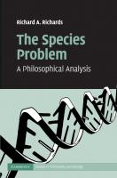 The species problem [electronic resource] : a philosophical analysis