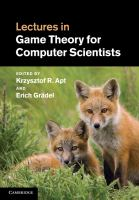 Lectures in game theory for computer scientists [electronic resource]