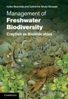 Management of freshwater biodiversity [electronic resource] : crayfish as bioindicators