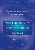 From luminous hot stars to starburst galaxies [electronic resource]