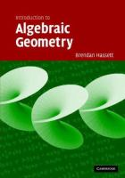 Introduction to algebraic geometry [electronic resource]