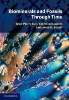 Biominerals and fossils through time [electronic resource]