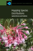 Mapping species distributions [electronic resource] : spatial inference and prediction