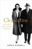 Cover Image for Clementine:  The Life of Mrs. Winston Churchill by Sonia Purnell