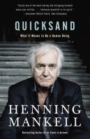 Quicksand : what it means to be a human being