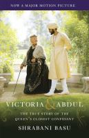 book cover image Victoria and Abdul