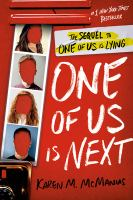 One of Us Is Next (One of Us is Lying #2) by Karen M. McManus