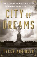 book cover image City of Dreams
