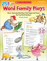 25 Fun Word Family Plays