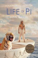 Book cover for Life of Pi by Yann Martell