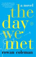 The day we met : a novel