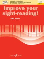 Improve your sight-reading! Initial piano