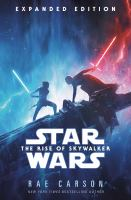 Title: Star wars, the rise of Skywalker Author:Carson, Rae