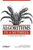 Algorithms in a nutshell [electronic resource]