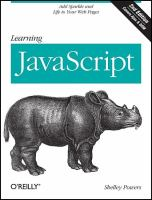 Learning JavaScript [electronic resource]