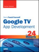 Google TV app development in 24 hours