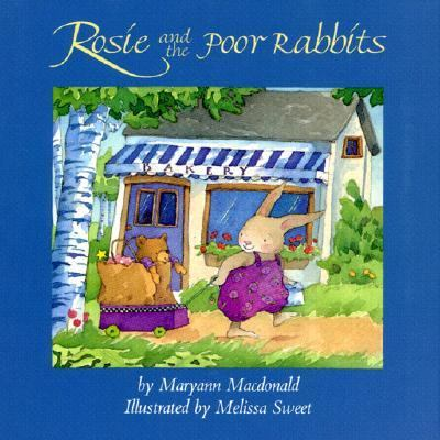 Cover Art for Rosie and the poor rabbits