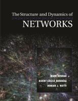 The structure and dynamics of networks [electronic resource]