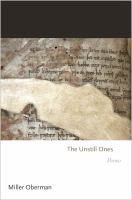The Unstill Ones: Poems