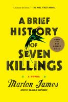 A brief history of seven killings [electronic resource] : a novel