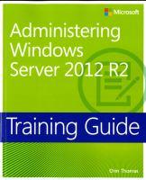 Administering Windows Server 2012 R2