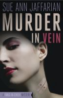 Cover Image of Murder in Vein