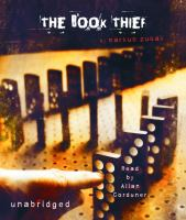 book cover image-The Book Thief