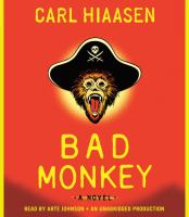 Cover of the book Bad monkey