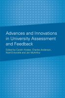 Advances and innovations in university assessment and feedback : a festchrift in honour of Professor Dai Hounsell