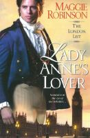 LADY ANNE'S LOVER