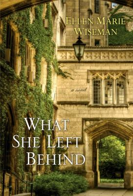 Book cover for What she left behind / Ellen Marie Wiseman