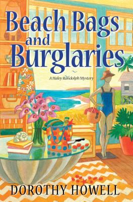 cover for book entitled Beach Bags and Burglaries