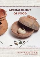 Archaeology of food : an encyclopedia