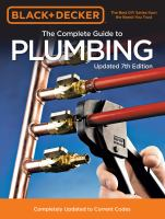 Title: The complete guide to plumbing Author: