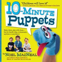 Cover of the book 10-minute puppets